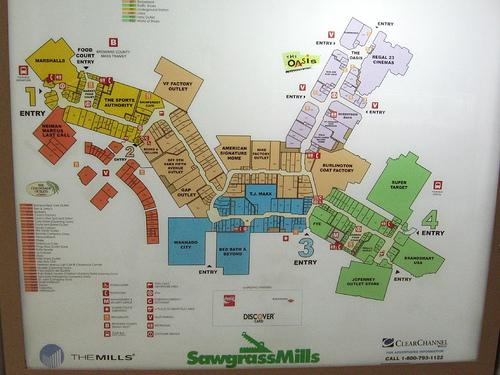 sawgrass mills mall map pdf